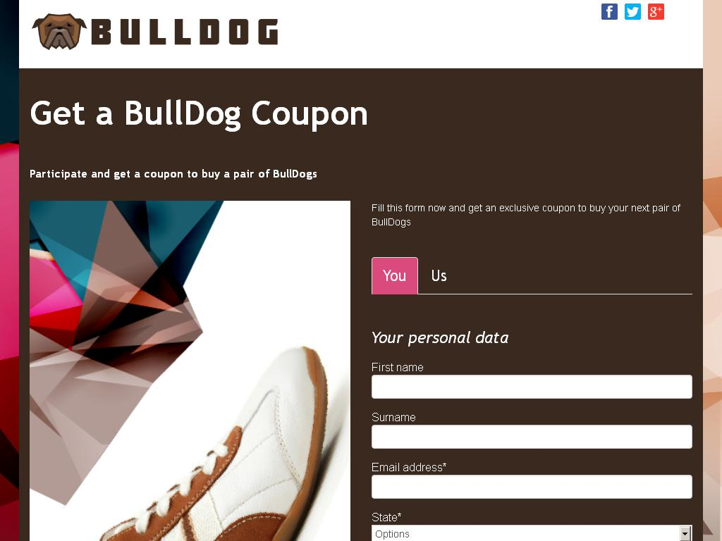 Get a BullDog Coupon