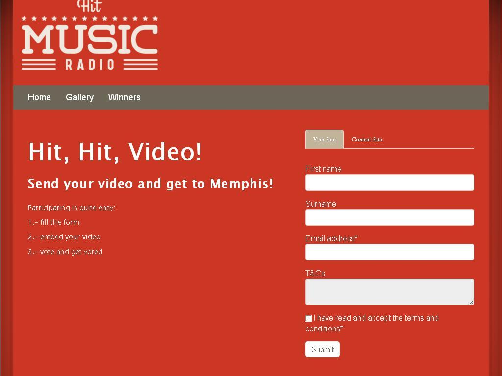 Hit Music Radio Video Contest