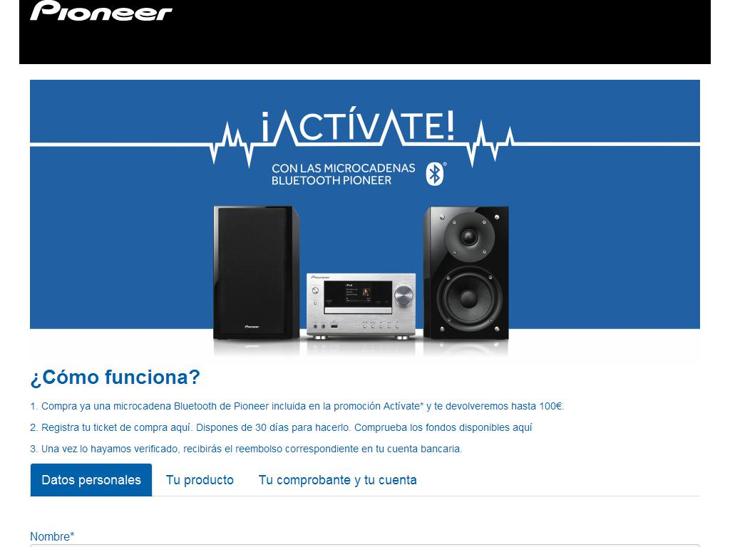 Pioneer - Actívate 2015