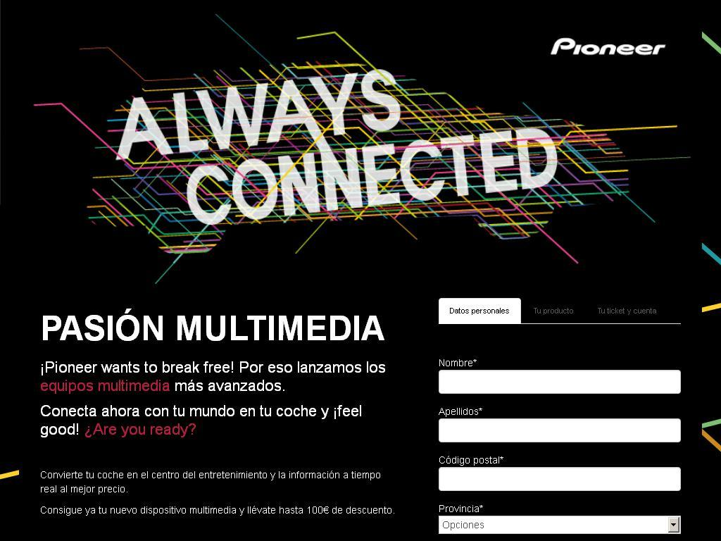 Pioneer AlwaysConnected