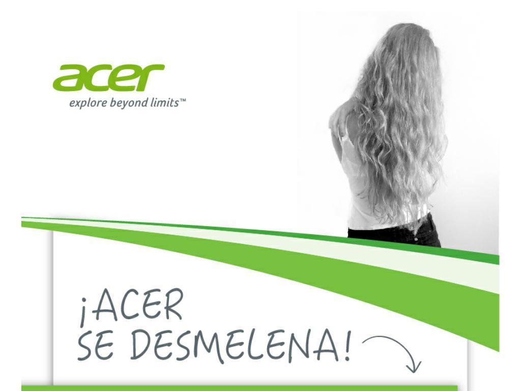 Acer - Don't be afraid to touch